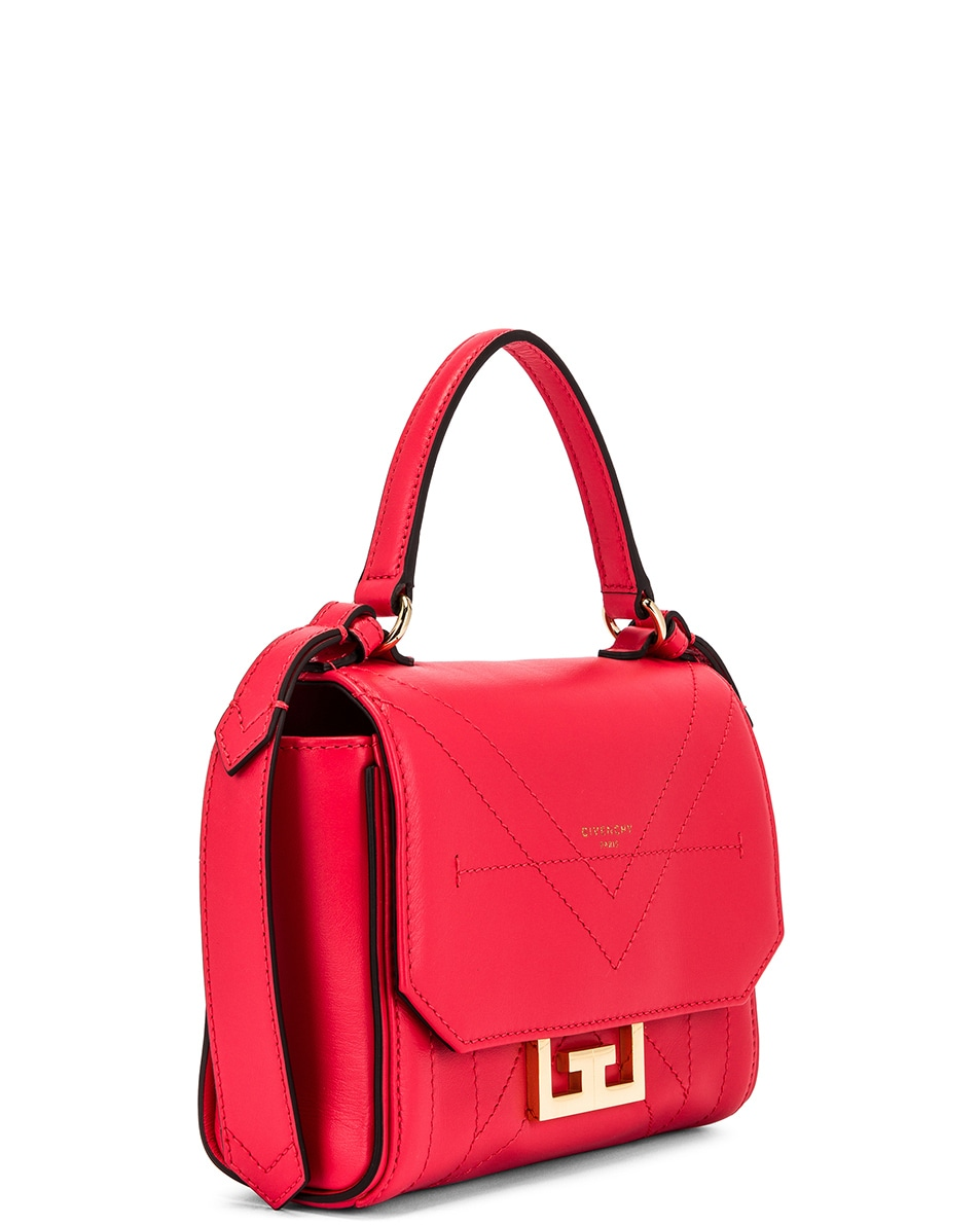 Image 4 of Givenchy Mini Eden Bag in Lipstick Pink