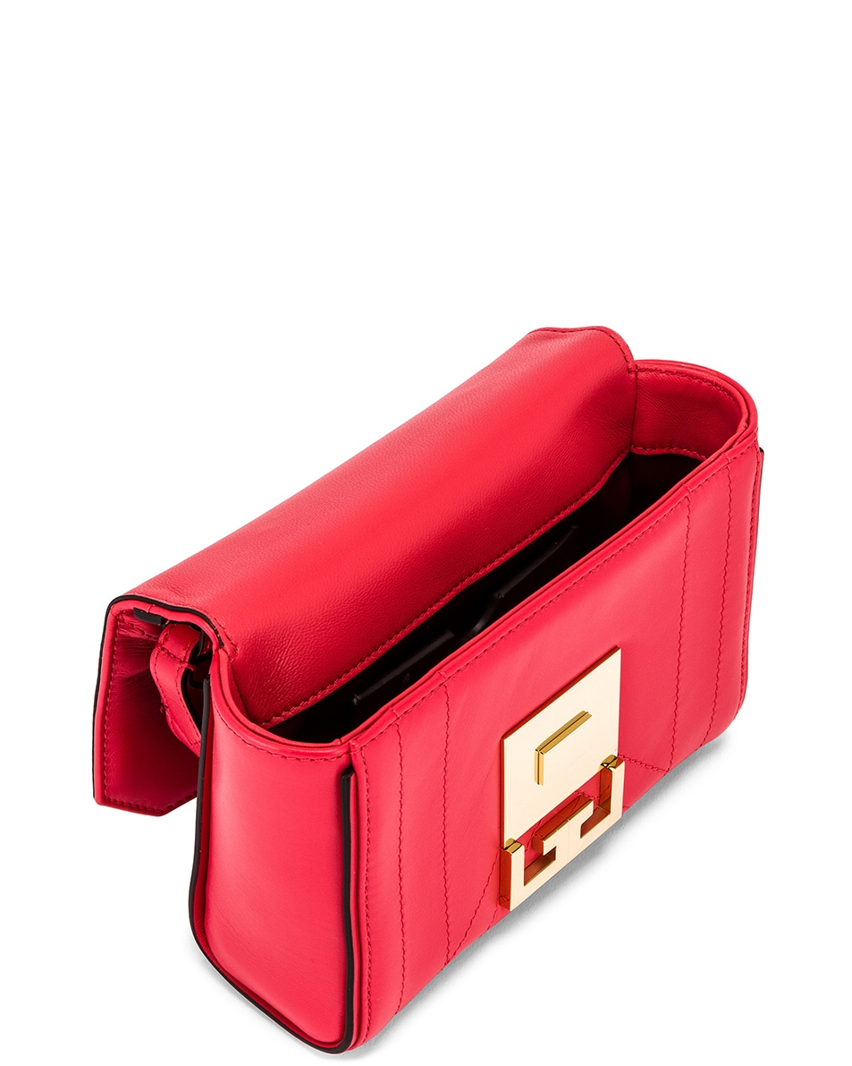 Image 5 of Givenchy Mini Eden Bag in Lipstick Pink