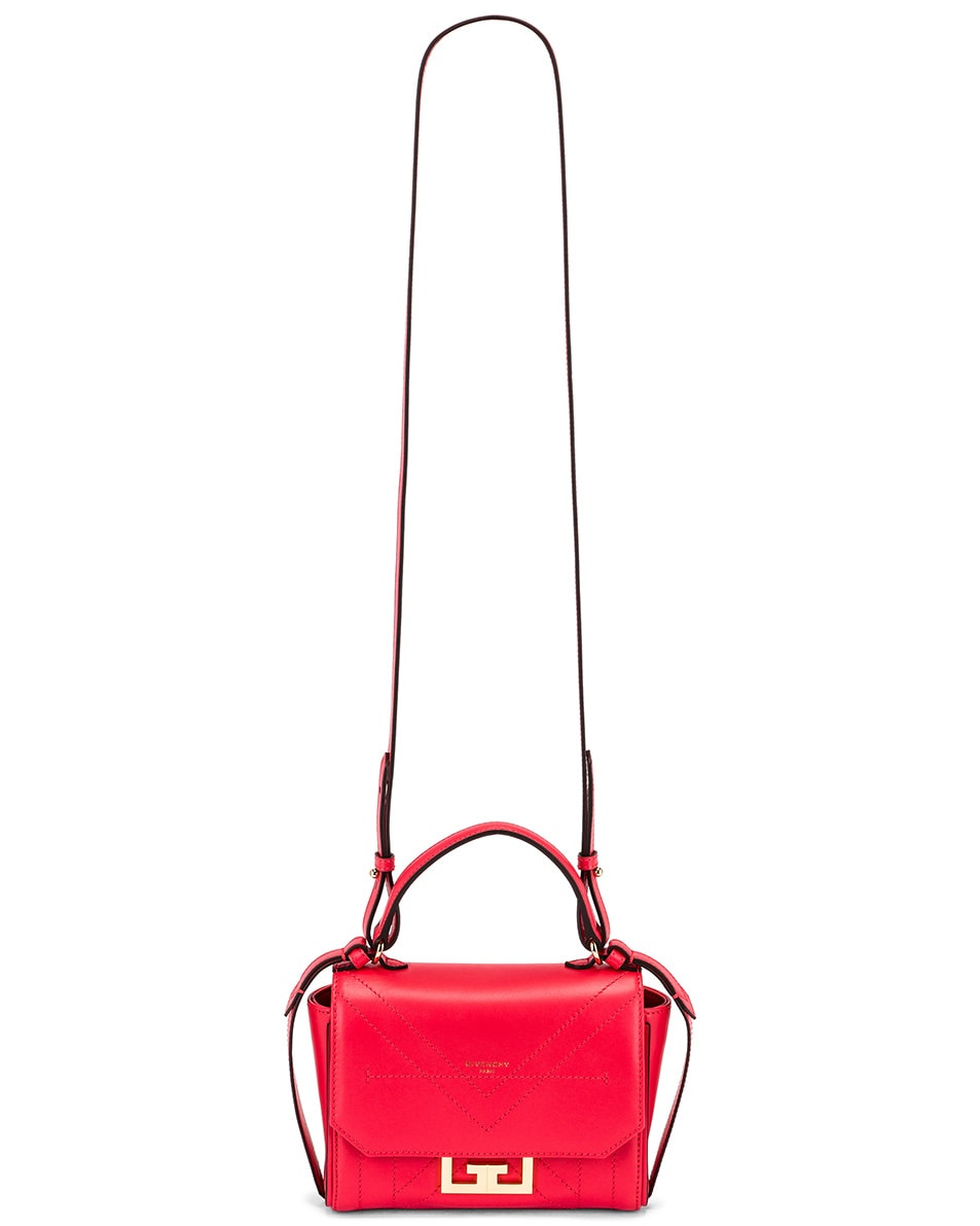 Image 6 of Givenchy Mini Eden Bag in Lipstick Pink
