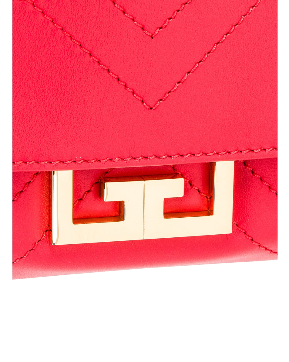 Image 8 of Givenchy Mini Eden Bag in Lipstick Pink