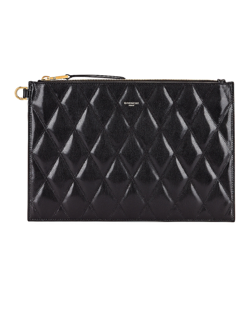 Image 1 of Givenchy Medium GV3 Ring Pouch in Black