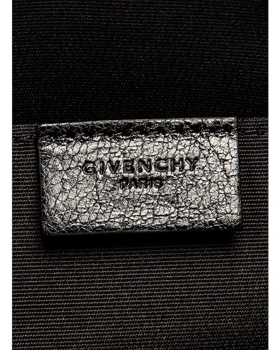 Image 6 of Givenchy Medium GV3 Ring Pouch in Black