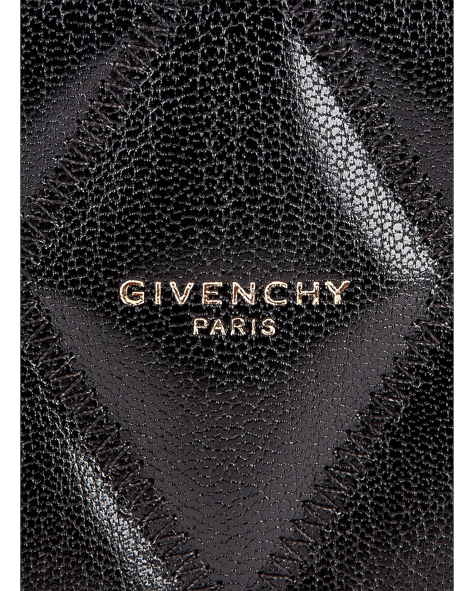 Image 7 of Givenchy Medium GV3 Ring Pouch in Black
