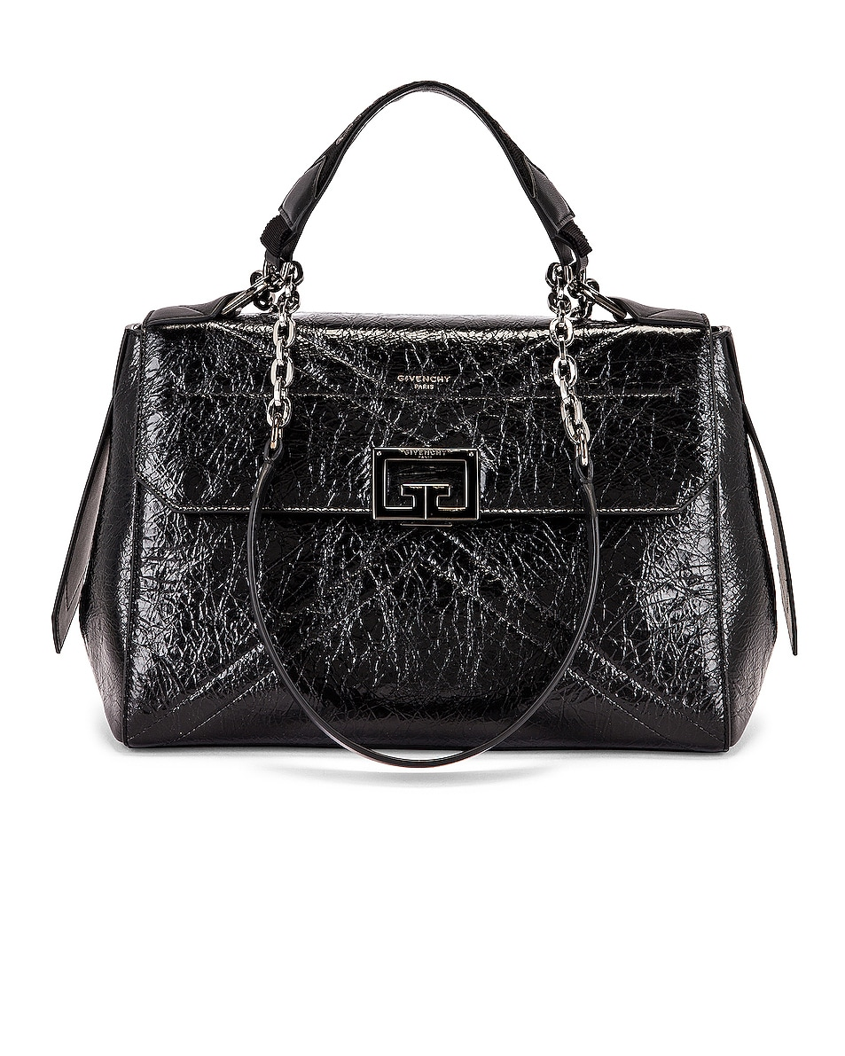 Image 1 of Givenchy Medium ID Flap Bag in Black