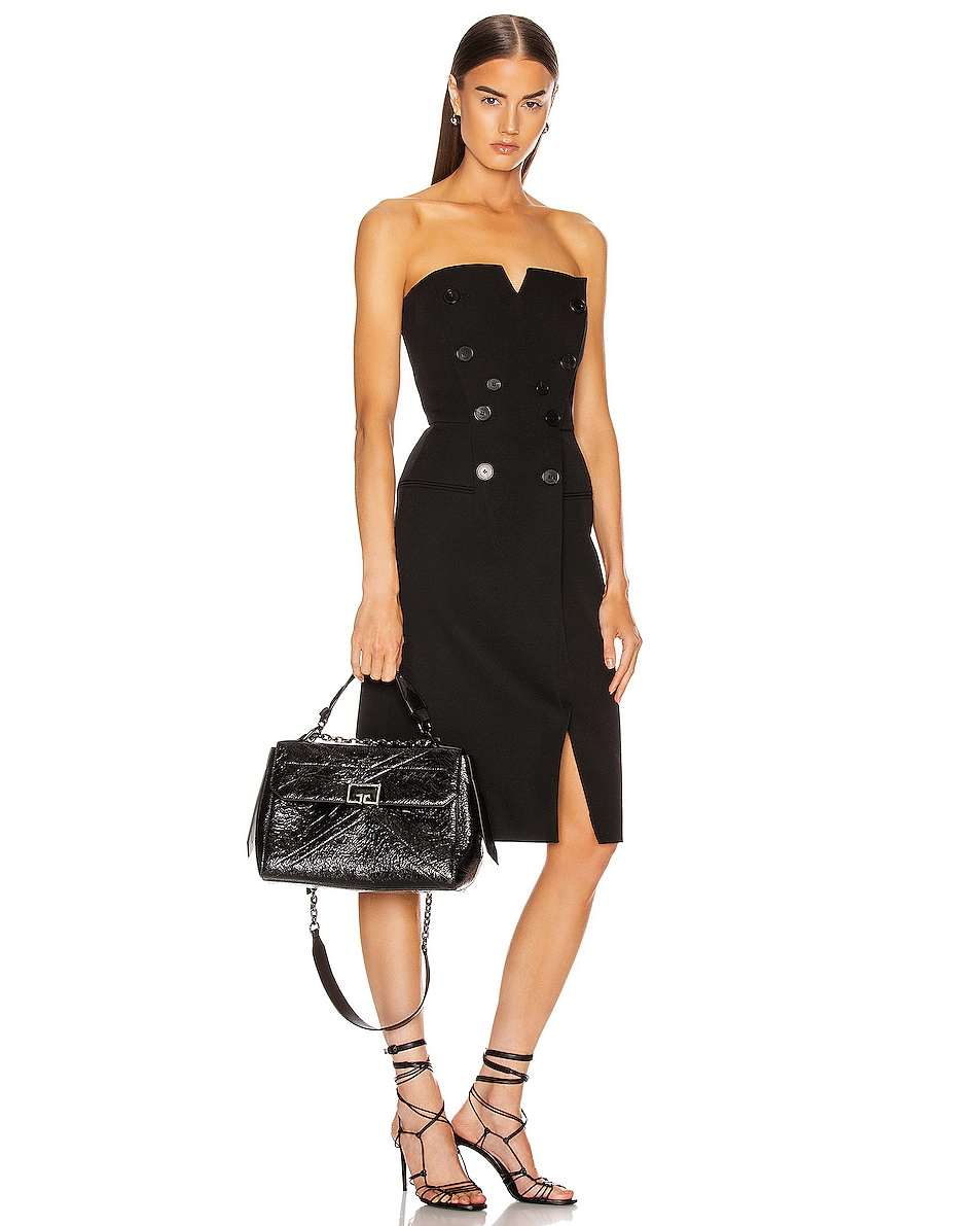 Image 2 of Givenchy Medium ID Flap Bag in Black