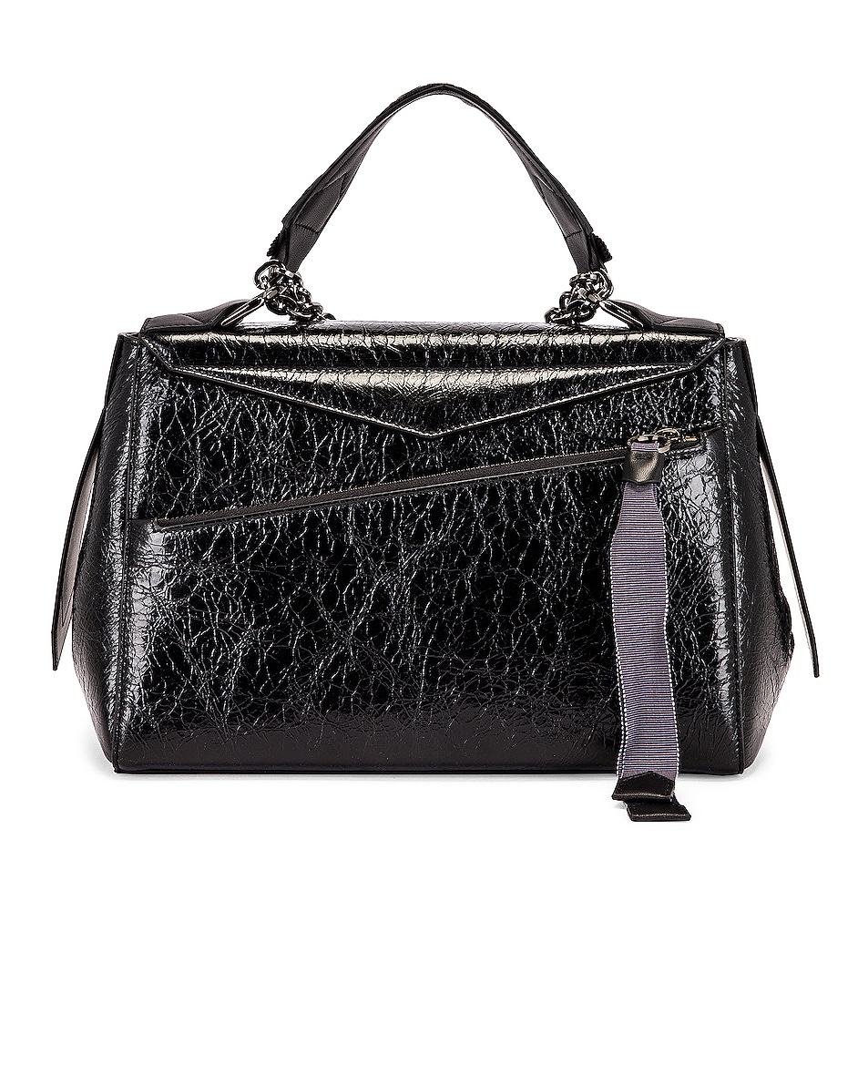 Image 3 of Givenchy Medium ID Flap Bag in Black