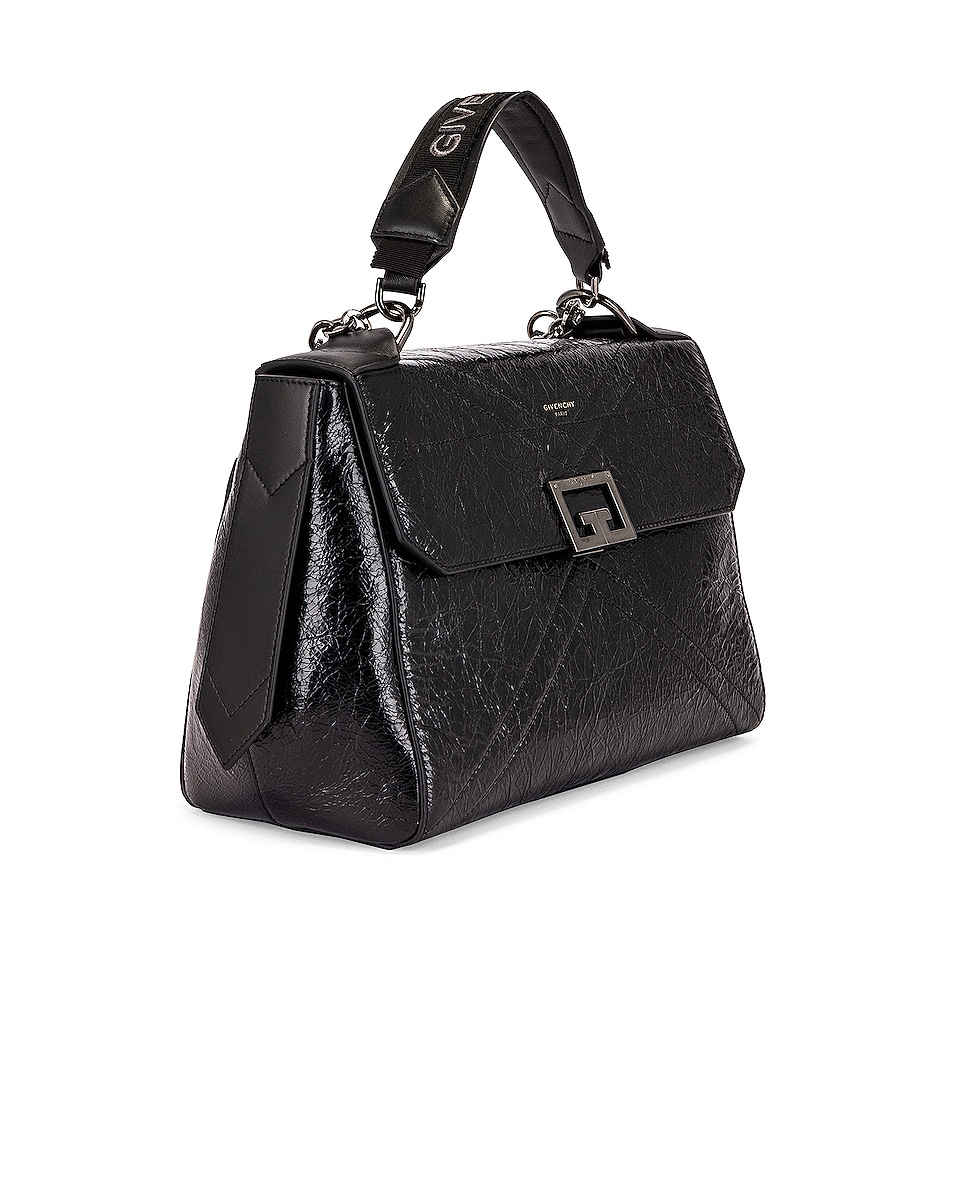 Image 4 of Givenchy Medium ID Flap Bag in Black