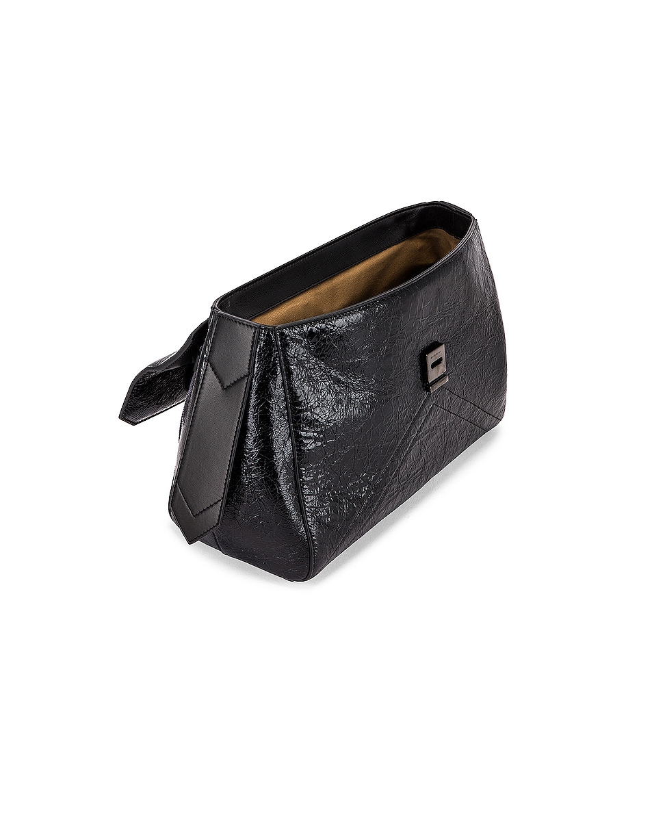 Image 5 of Givenchy Medium ID Flap Bag in Black