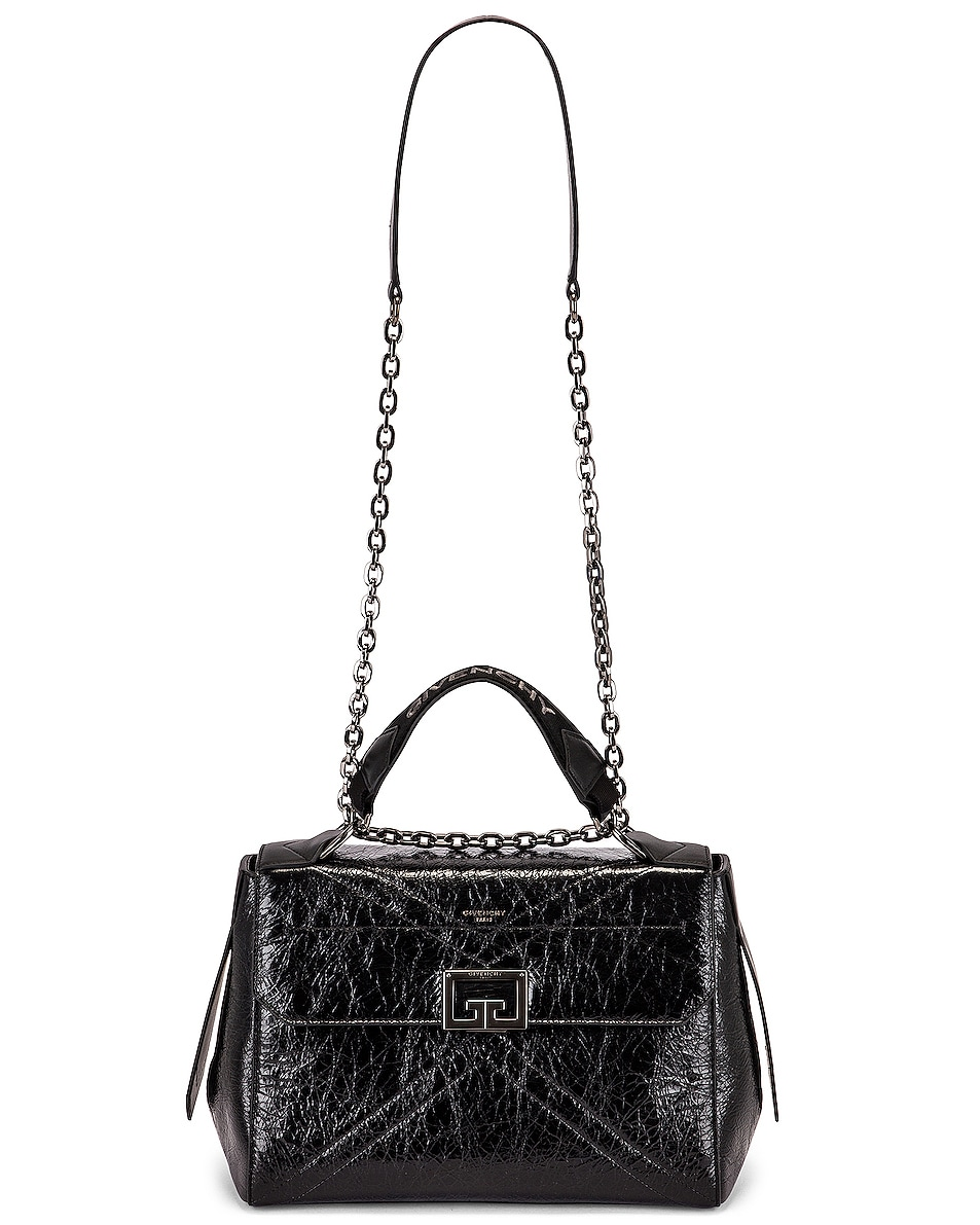Image 6 of Givenchy Medium ID Flap Bag in Black