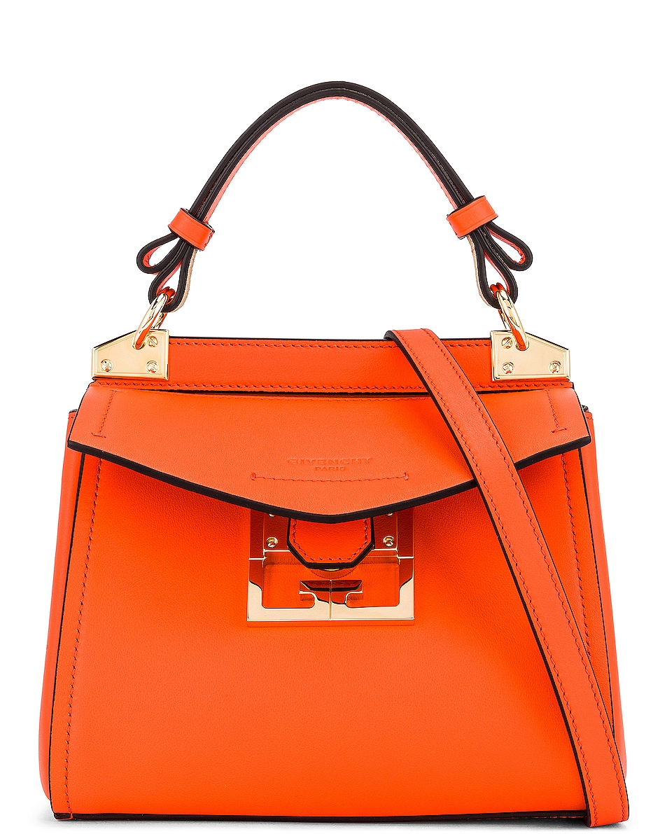 Image 1 of Givenchy Mini Mystic Bag in Tangerine