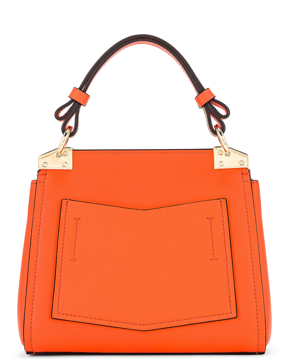 Image 3 of Givenchy Mini Mystic Bag in Tangerine