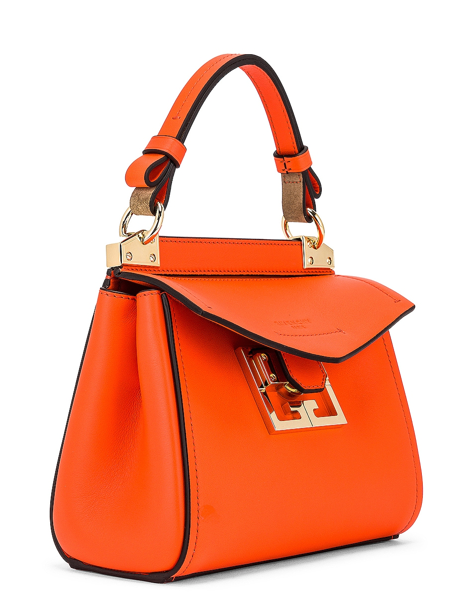Image 4 of Givenchy Mini Mystic Bag in Tangerine
