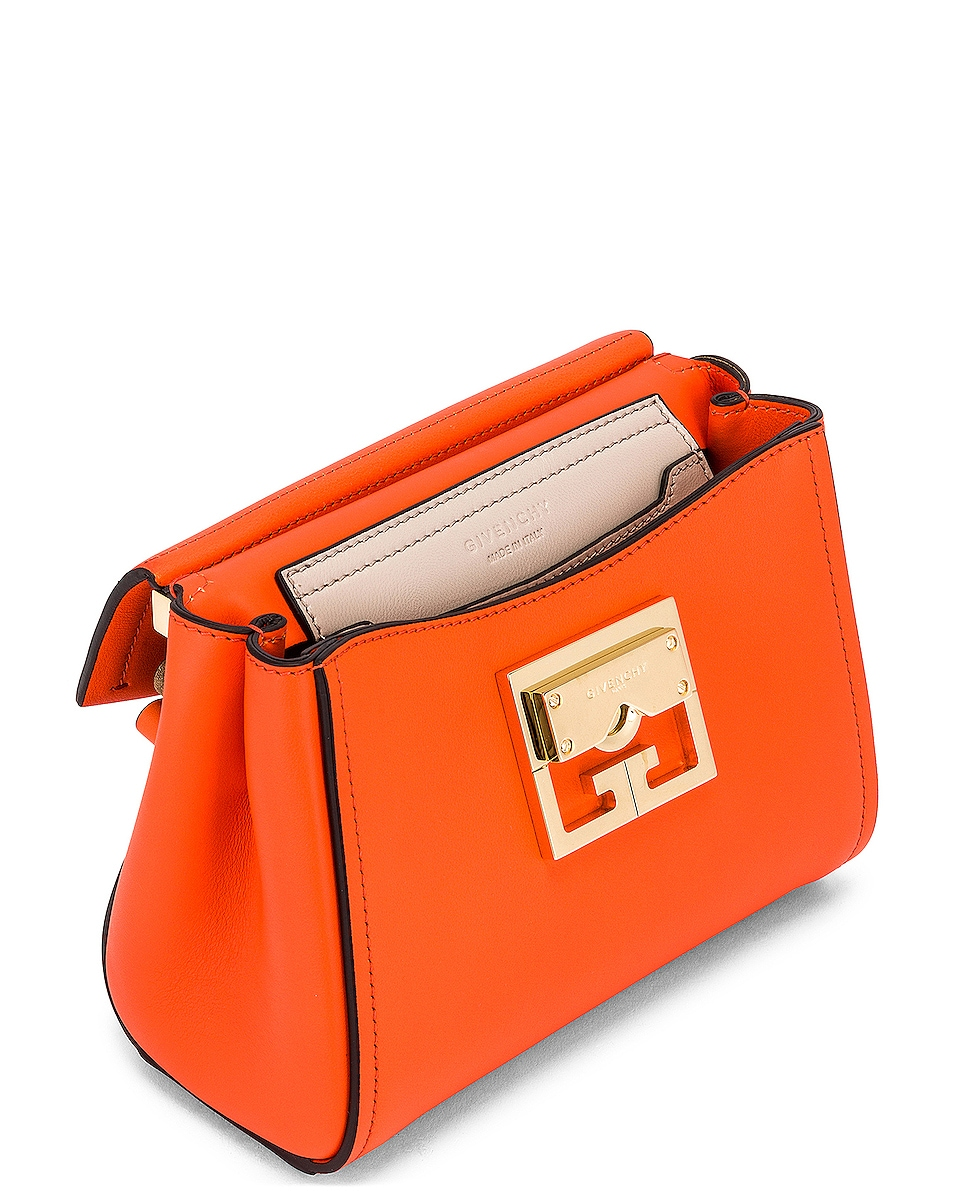 Image 5 of Givenchy Mini Mystic Bag in Tangerine