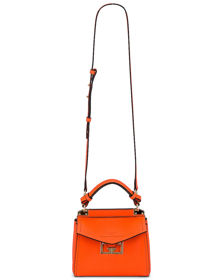 Image 6 of Givenchy Mini Mystic Bag in Tangerine