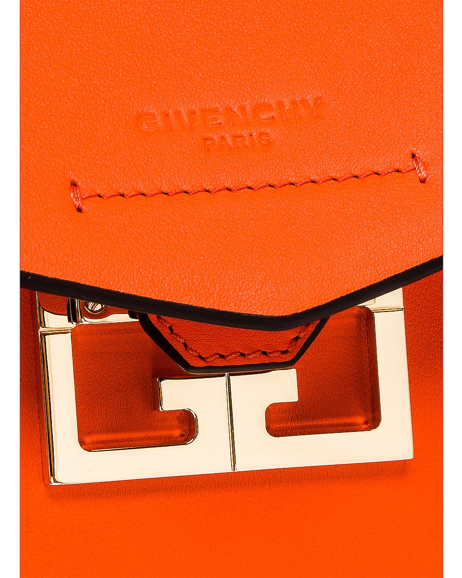 Image 8 of Givenchy Mini Mystic Bag in Tangerine