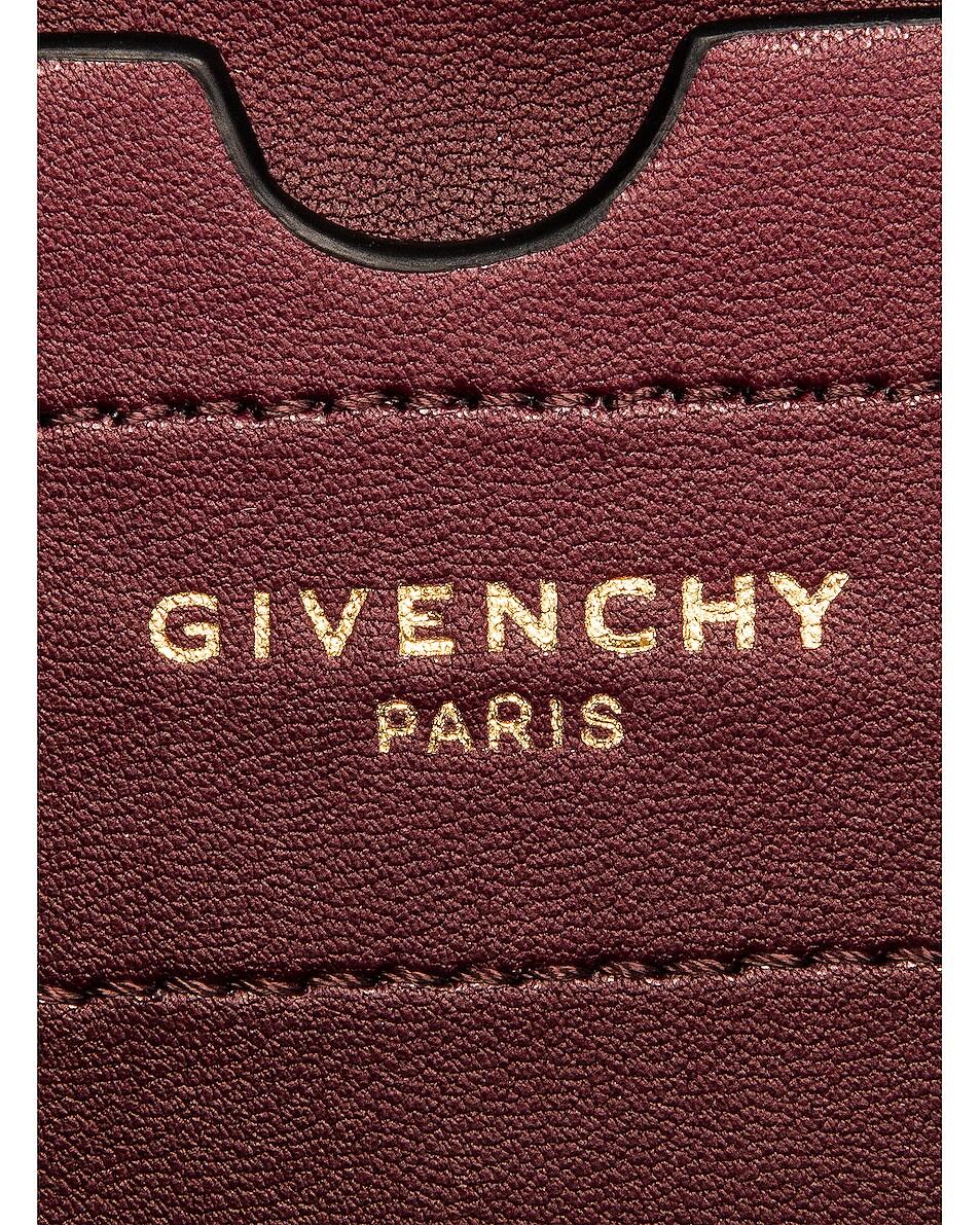 Image 7 of Givenchy Mini Eden Embossed Croc Bag in Black