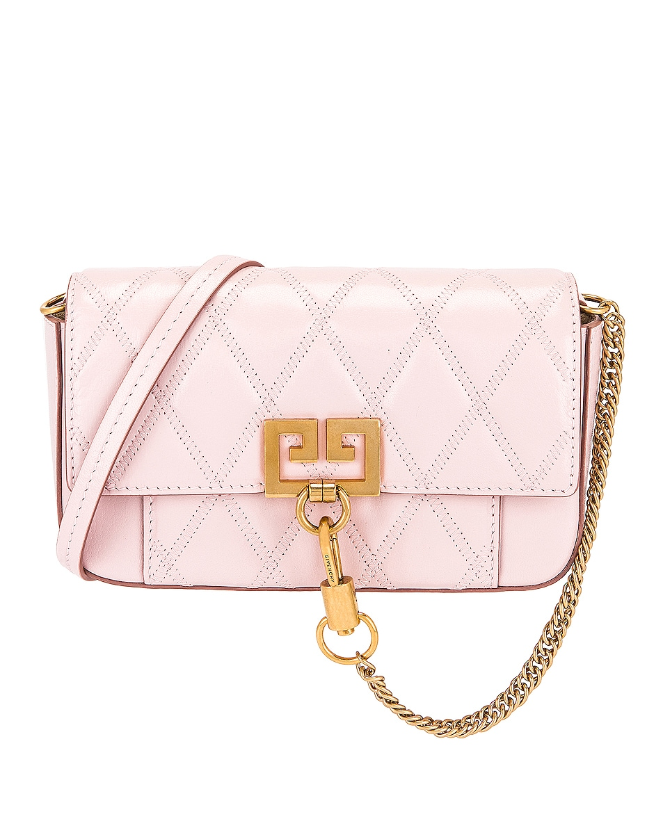 Image 1 of Givenchy Mini Pocket Chain Bag in Pink