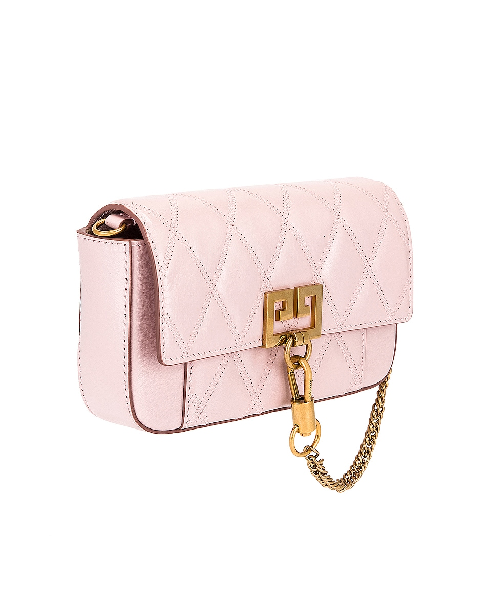 Image 4 of Givenchy Mini Pocket Chain Bag in Pink