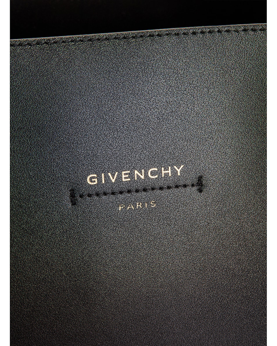 Image 7 of Givenchy Wing Shopping Bag in Black & White