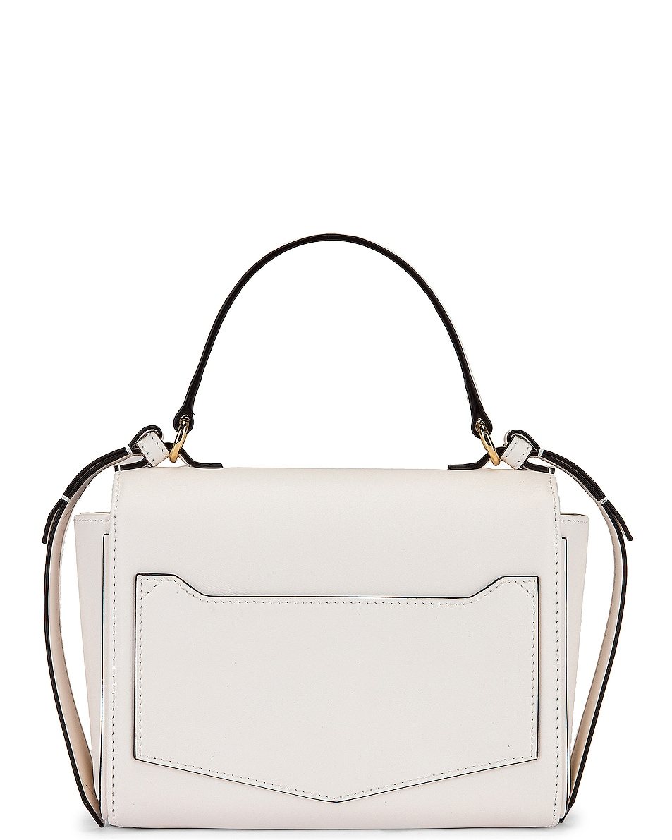 Image 3 of Givenchy Mini Eden Leather Bag in White