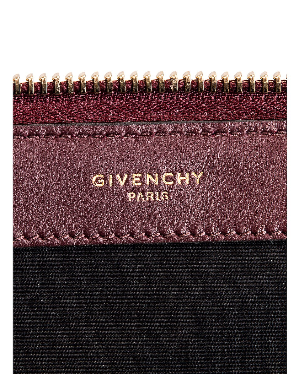 Image 6 of Givenchy Large Bond Pouch in Aubergine