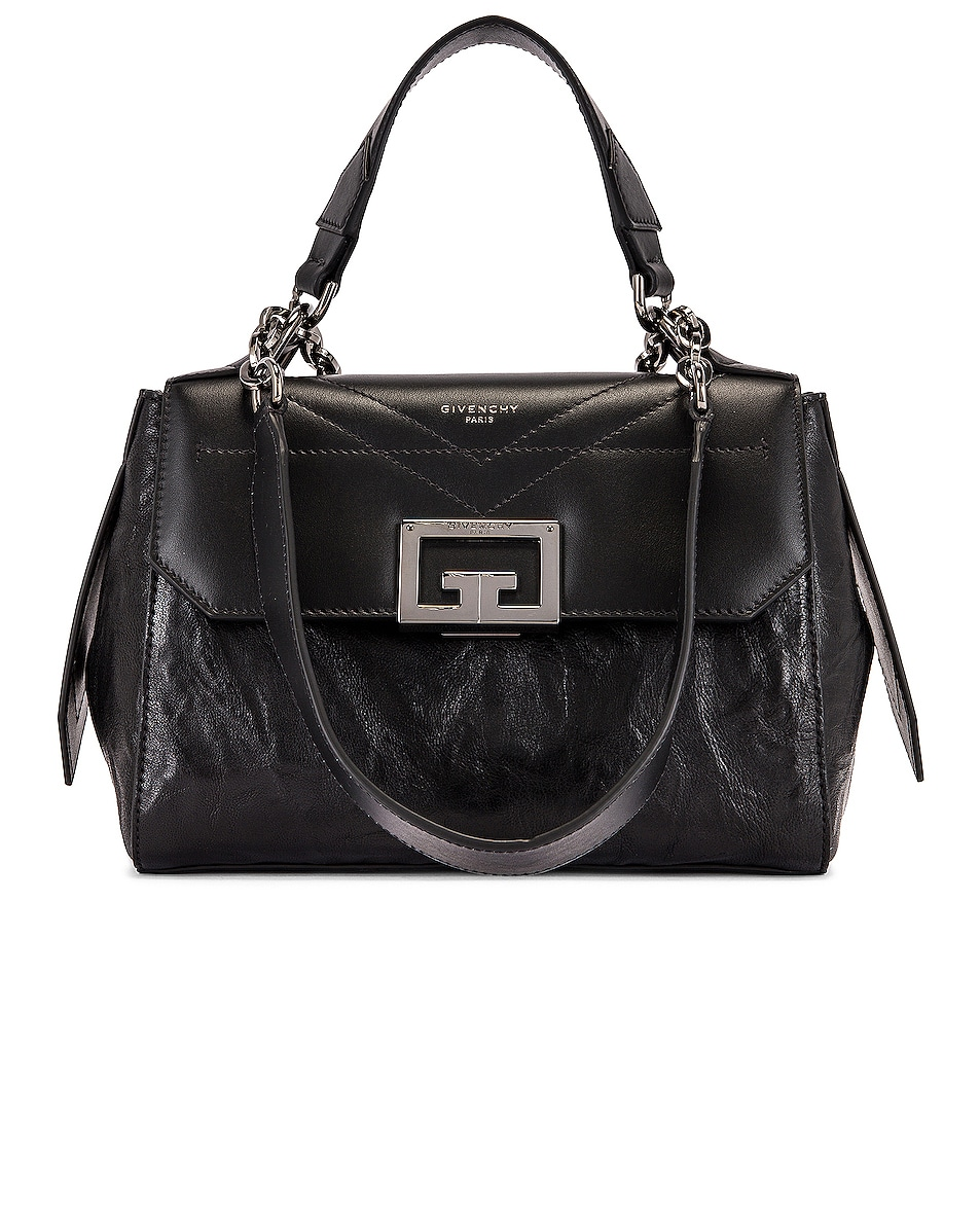 Image 1 of Givenchy Small ID Flap Bag in Black