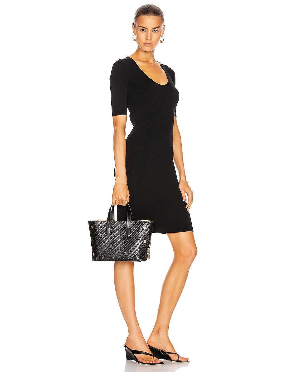 Image 2 of Givenchy Mini Bond Shopping Bag in Black