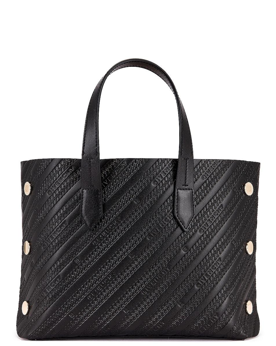 Image 3 of Givenchy Mini Bond Shopping Bag in Black