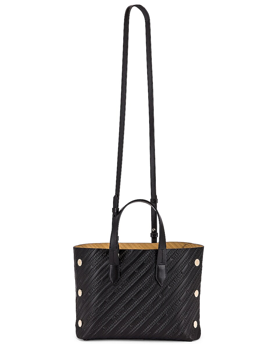 Image 6 of Givenchy Mini Bond Shopping Bag in Black