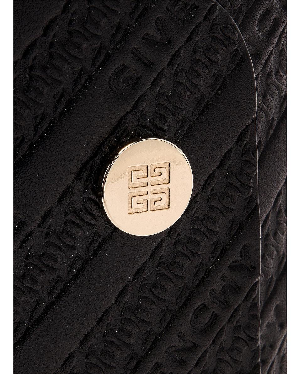 Image 8 of Givenchy Mini Bond Shopping Bag in Black