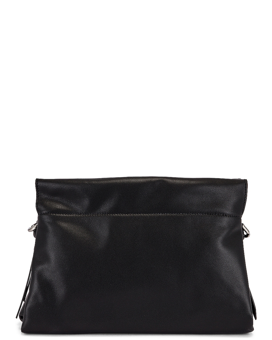 Image 3 of Givenchy Medium ID 93 Twisted Strap Zip Bag in Black