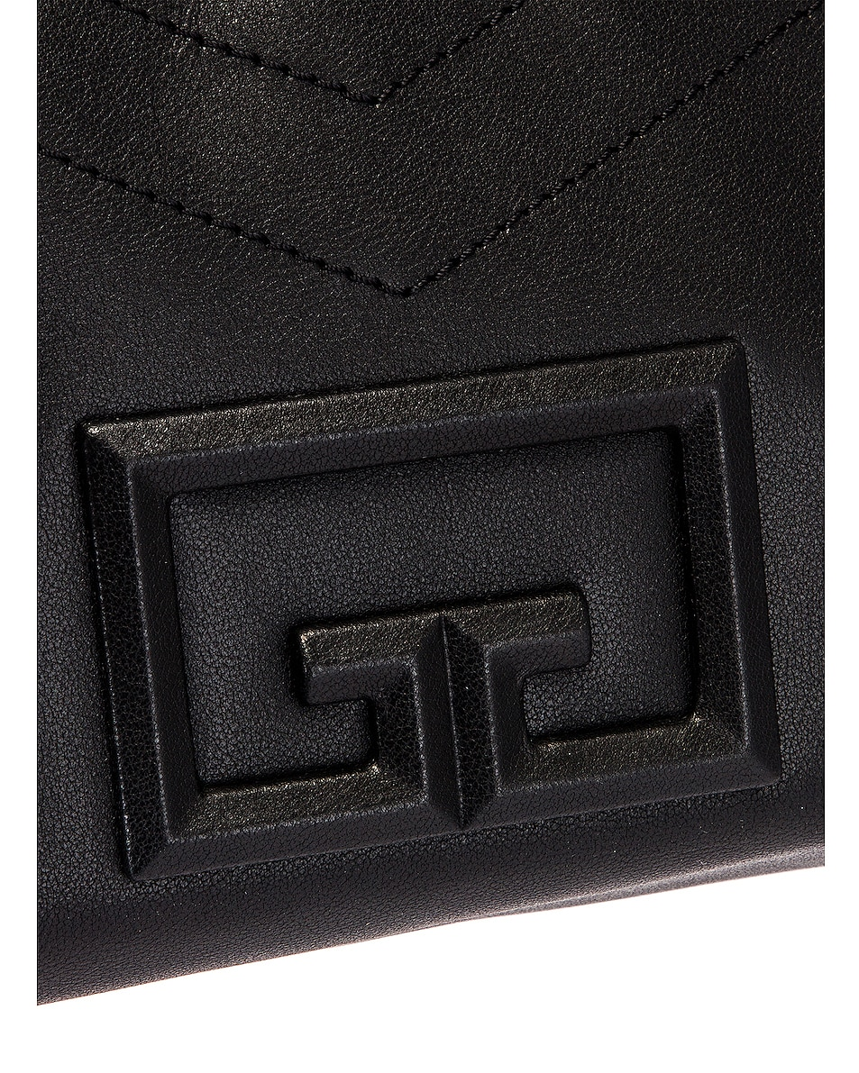 Image 8 of Givenchy Medium ID 93 Twisted Strap Zip Bag in Black