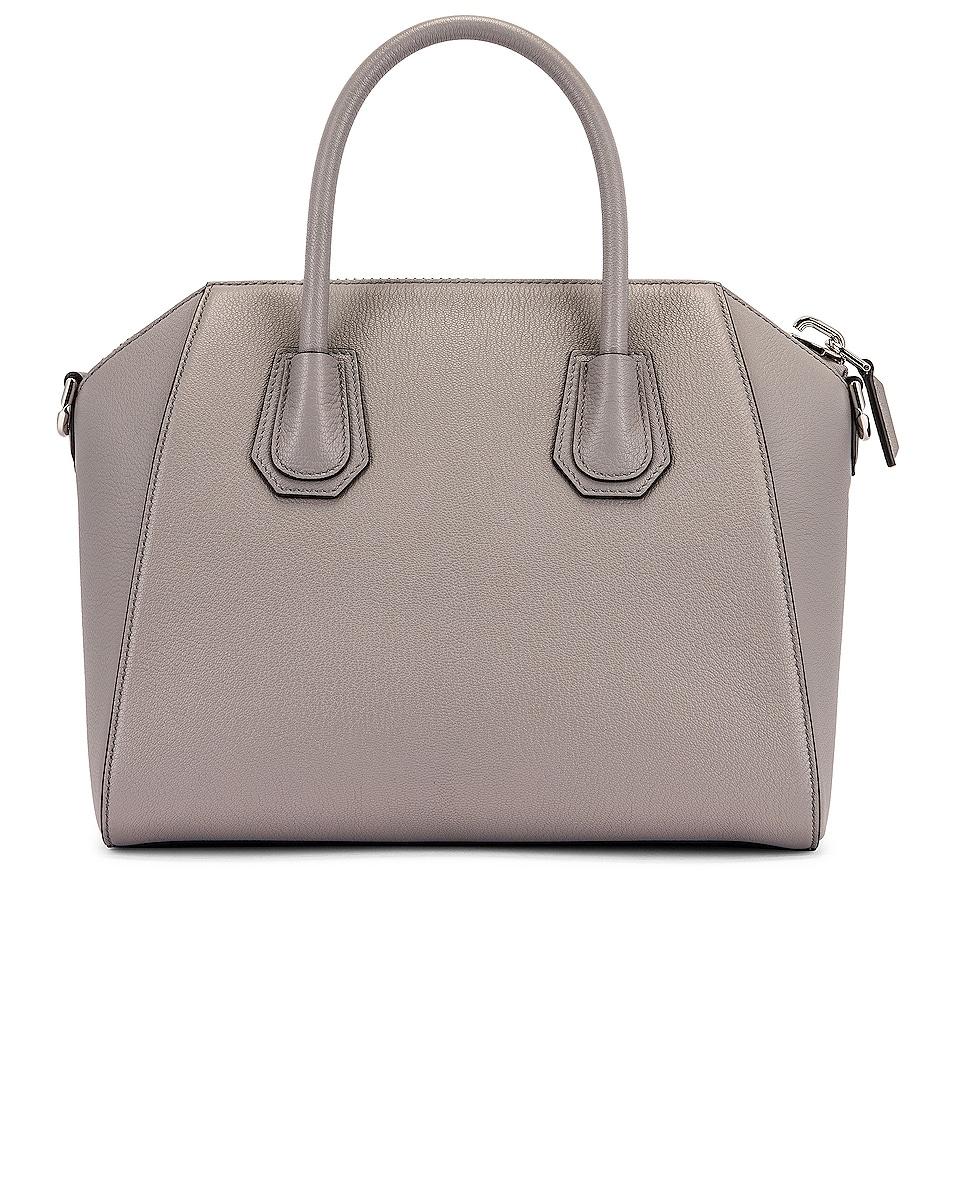 Image 3 of Givenchy Small Antigona Bag in Pearl Grey