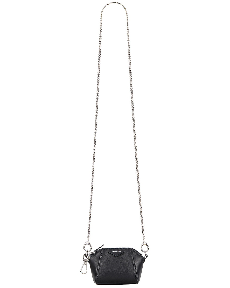 Image 1 of Givenchy Antigona Baby Bag in Black