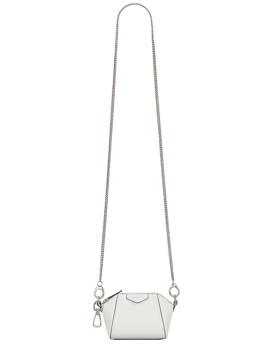 Image 1 of Givenchy Antigona Baby Bag in White