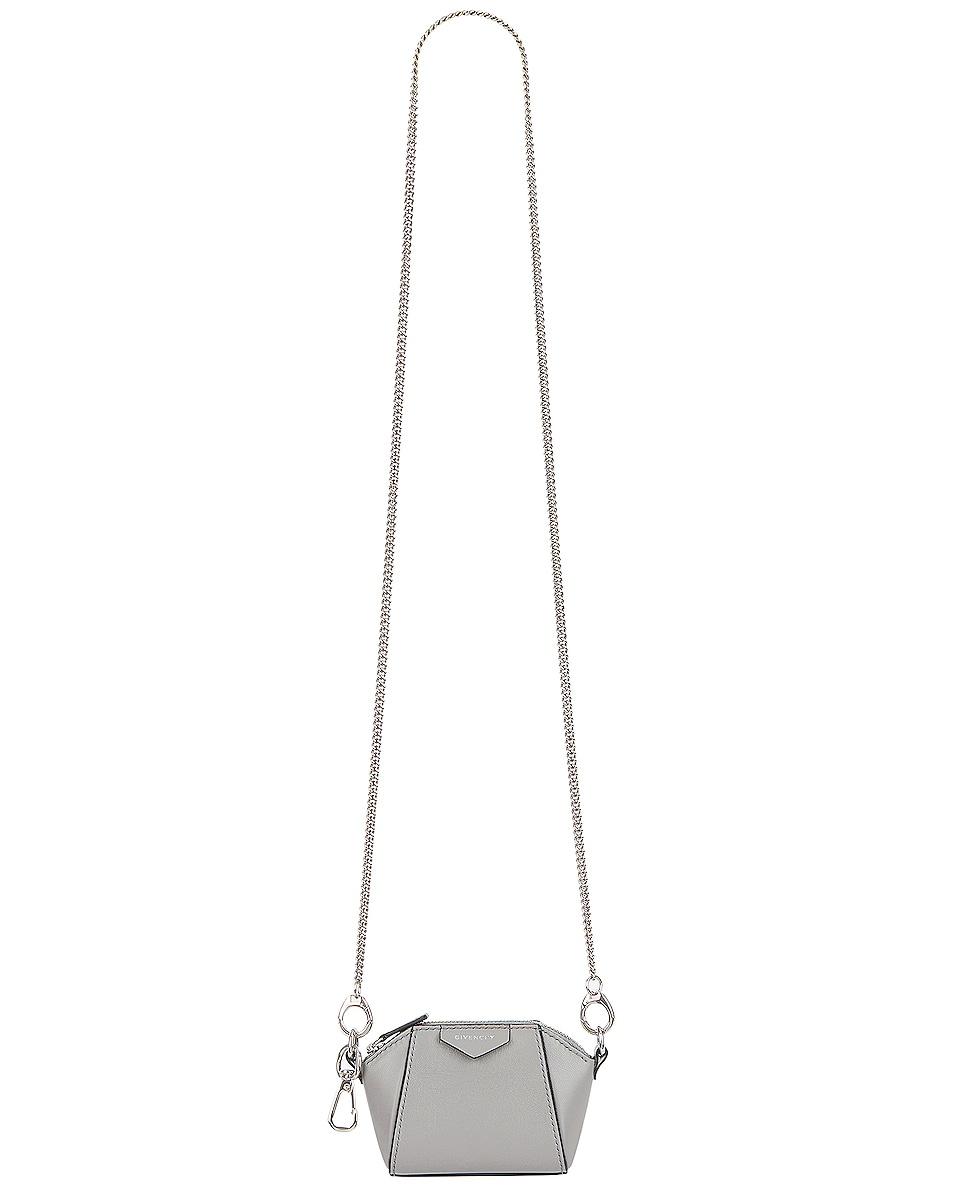 Image 1 of Givenchy Antigona Baby Bag in Pearl Grey