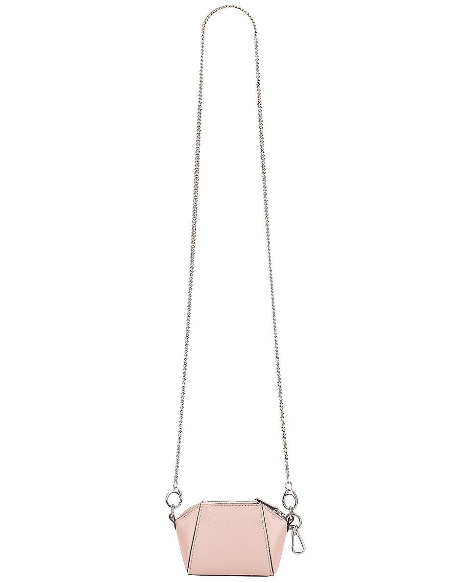 Image 1 of Givenchy Antigona Baby Bag in Candy Pink