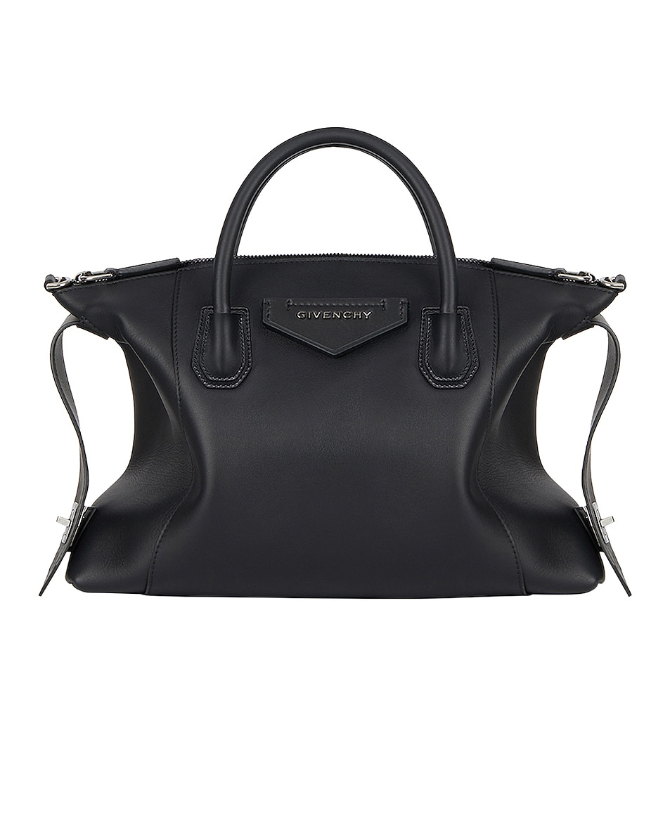 Image 1 of Givenchy Small Antigona Soft Bag in Black