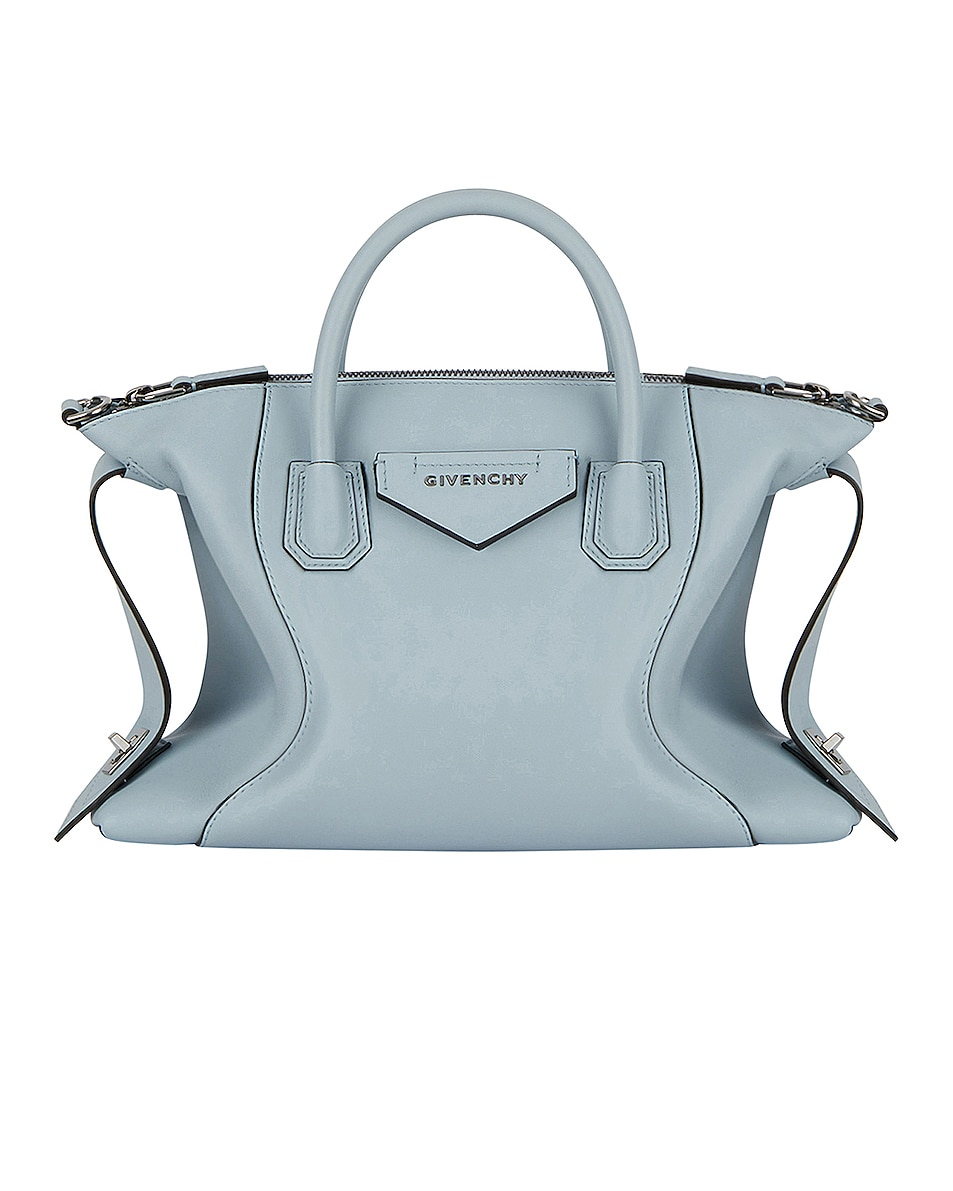 Image 1 of Givenchy Small Soft Antigona Bag in Ice Blue