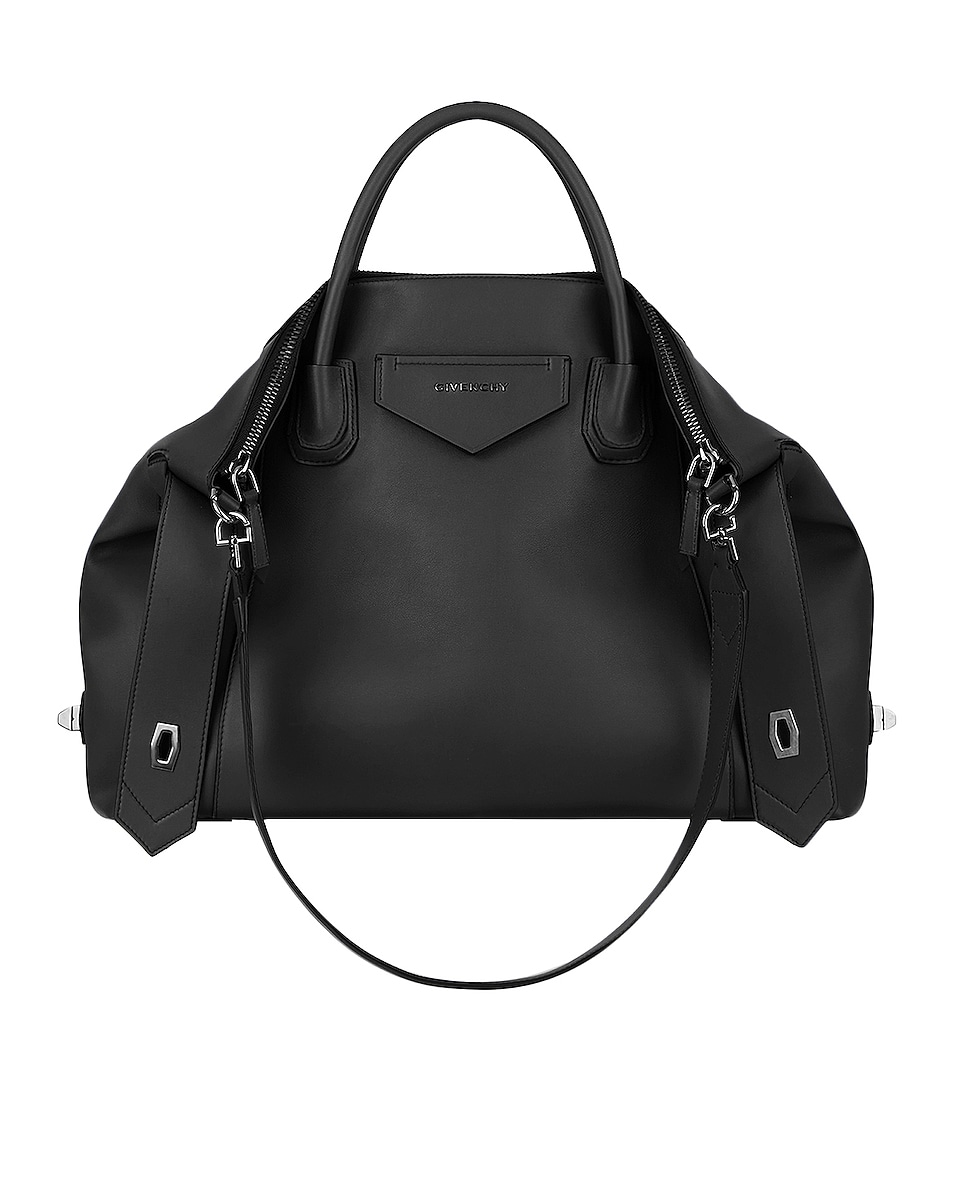 Image 1 of Givenchy Medium Antigona Soft Bag in Black