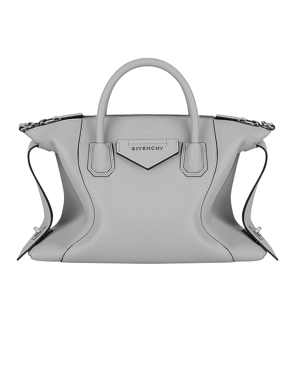 Image 1 of Givenchy Small Soft Antigona Bag in Pearl Grey