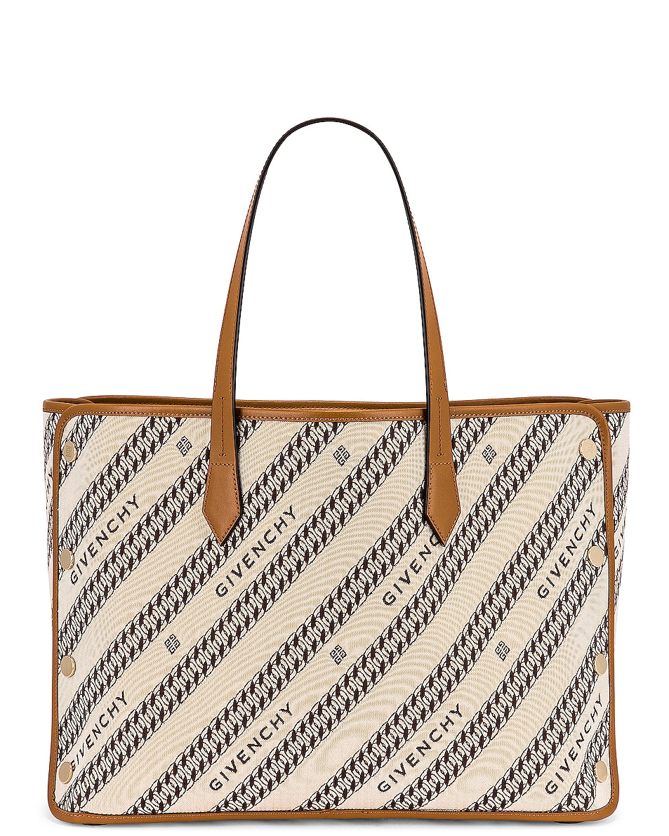 Image 1 of Givenchy Medium Bond Shopping Bag in Beige