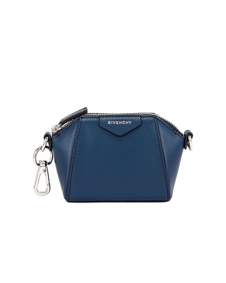 Image 1 of Givenchy Antigona Baby Bag in Midnight Blue