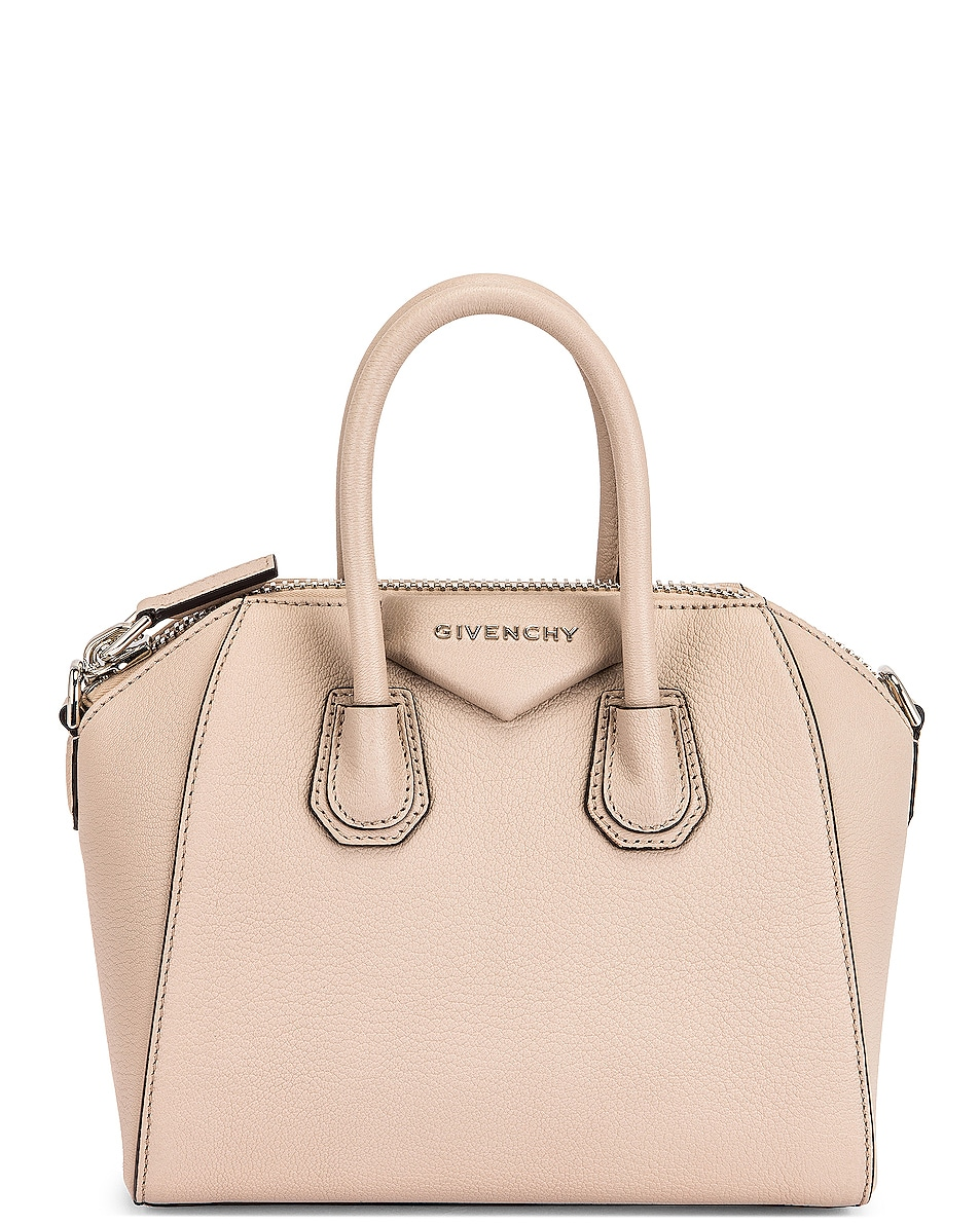 Image 1 of Givenchy Mini Antigona Bag in Dune