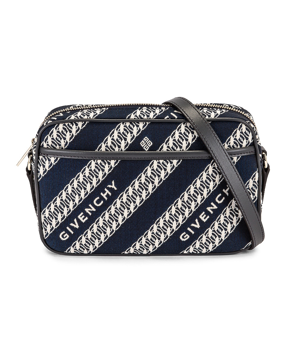 Image 1 of Givenchy Bond Camera Bag in Oil Blue