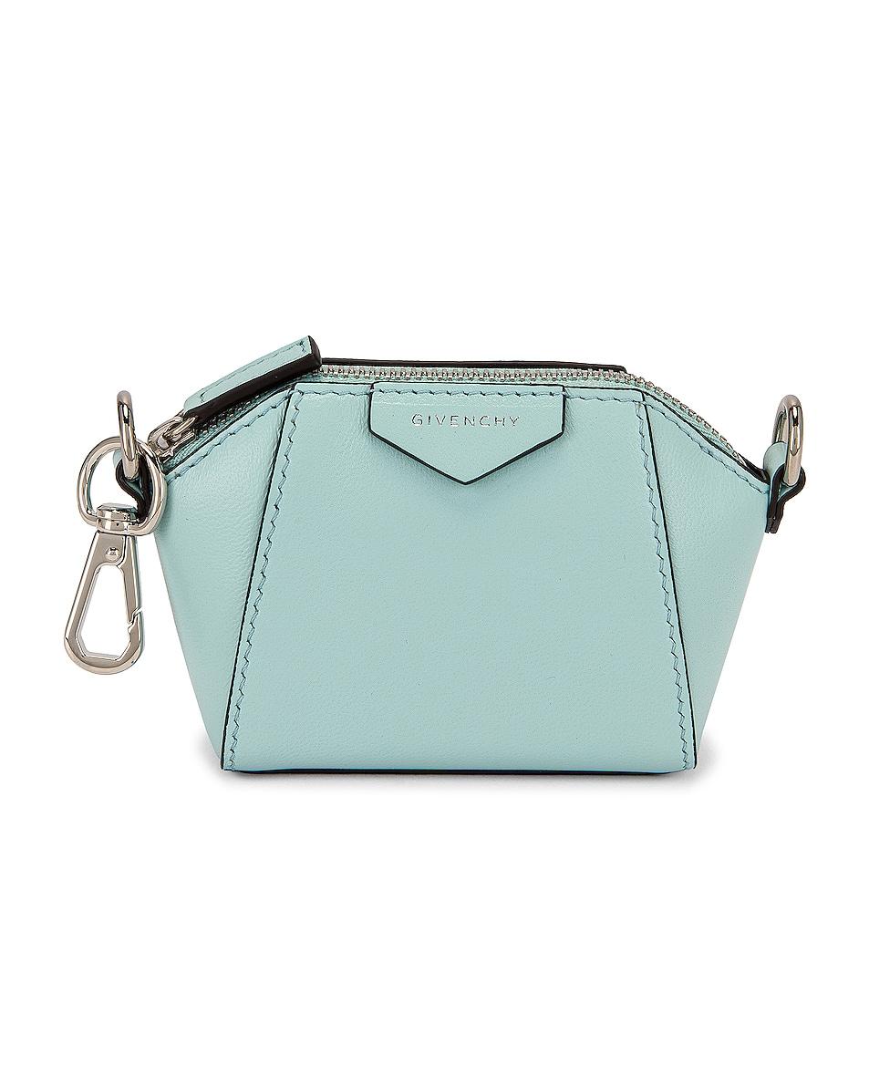 Image 1 of Givenchy Antigona Baby Bag in Aqua Marine