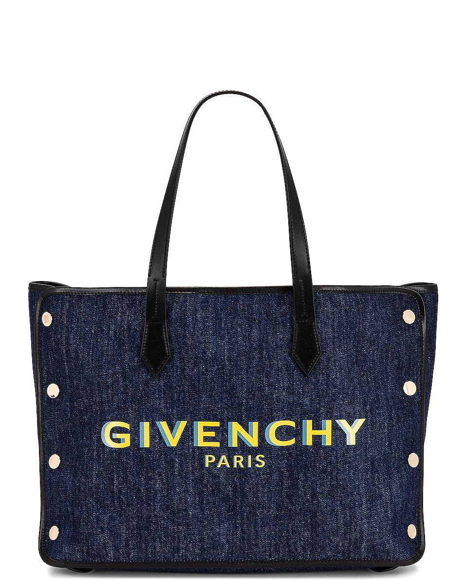 Image 1 of Givenchy Medium Bond Shopping Bag in Blue
