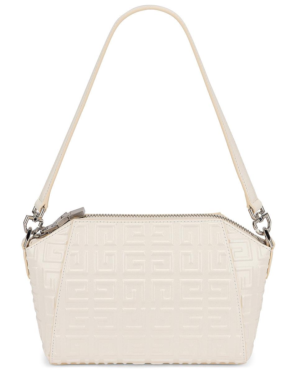 Image 1 of Givenchy XS Antigona 4G Leather Bag in Ivory