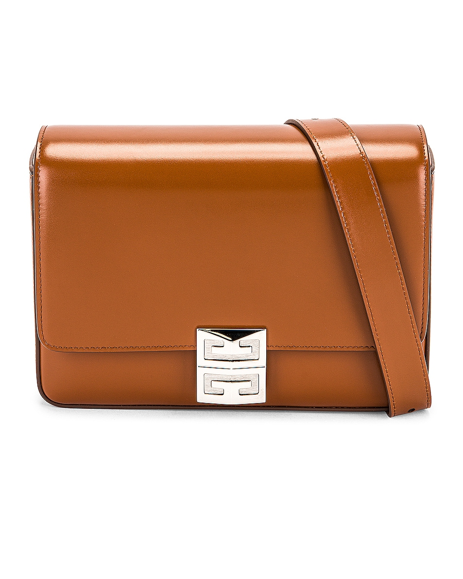 Image 1 of Givenchy Medium 4G Crossbody Bag in Chestnut