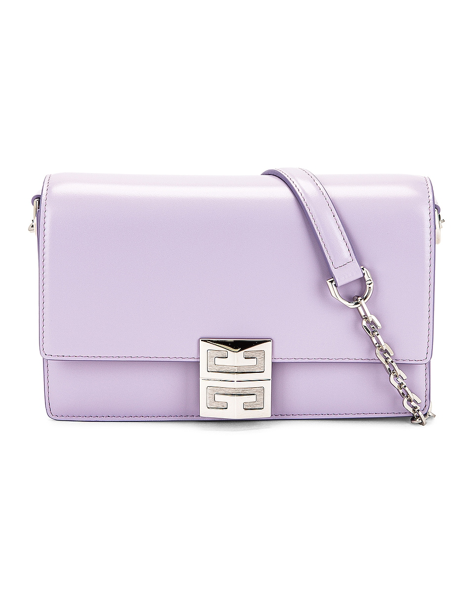 Image 1 of Givenchy Small 4G Chain Bag in Lilac